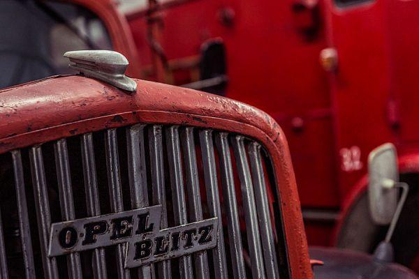 Opel-Blitz-Feuerwehr im Oldtimer Museum Rügen OT Prora